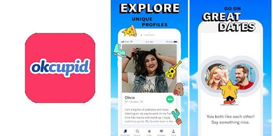 OkCupid Dating App, Online Dating Apps in India